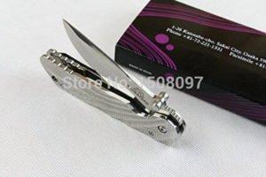 Rockstead Tei DLC Tactical Pocket Knife