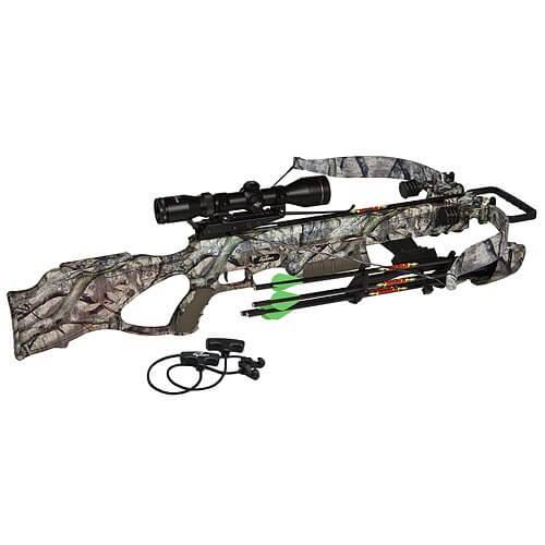 Excalibur Crossbow Matrix 405 Mega Crossbow with Twilight DLX, Treestand, 290-Pound