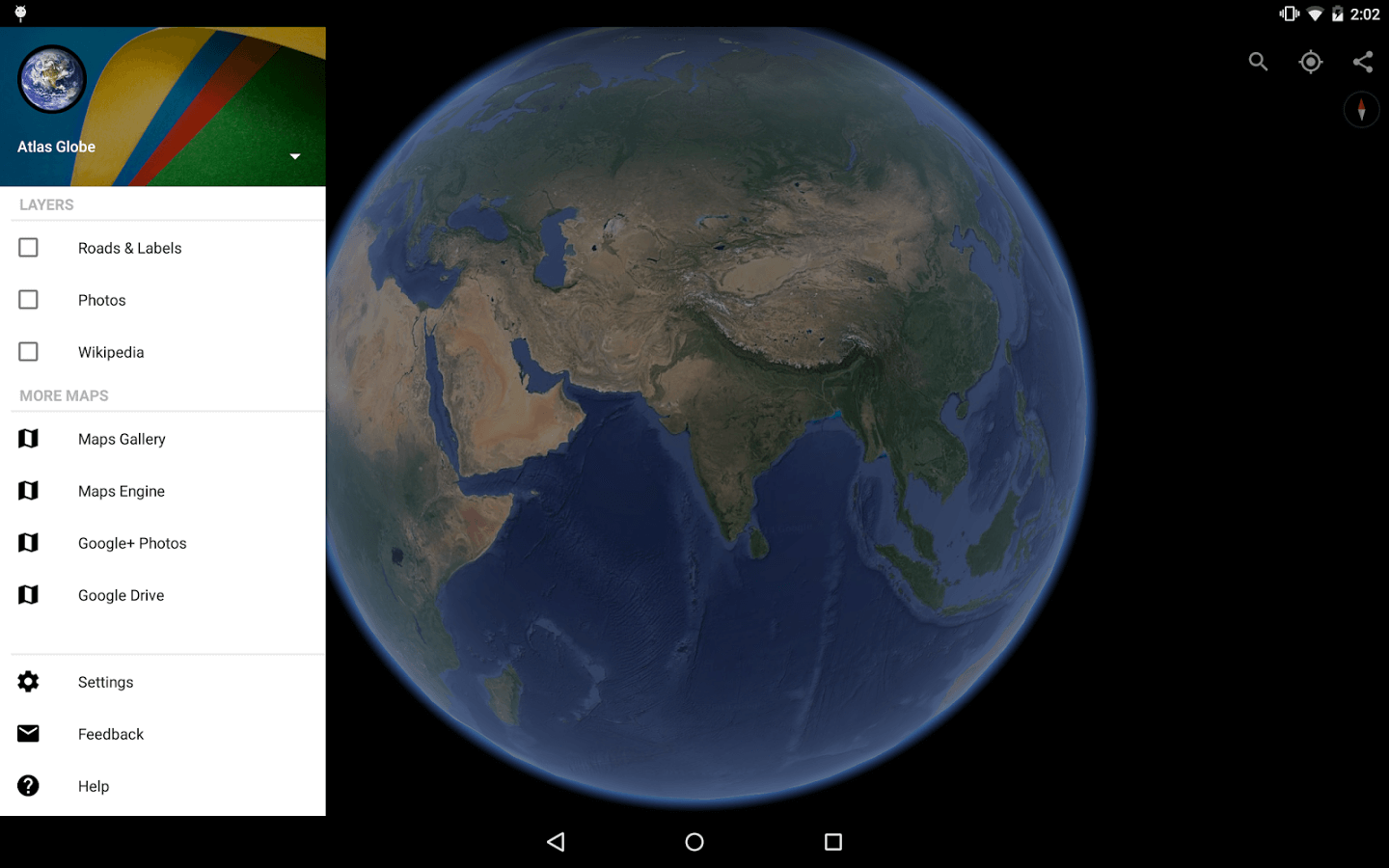 2. Google Earth