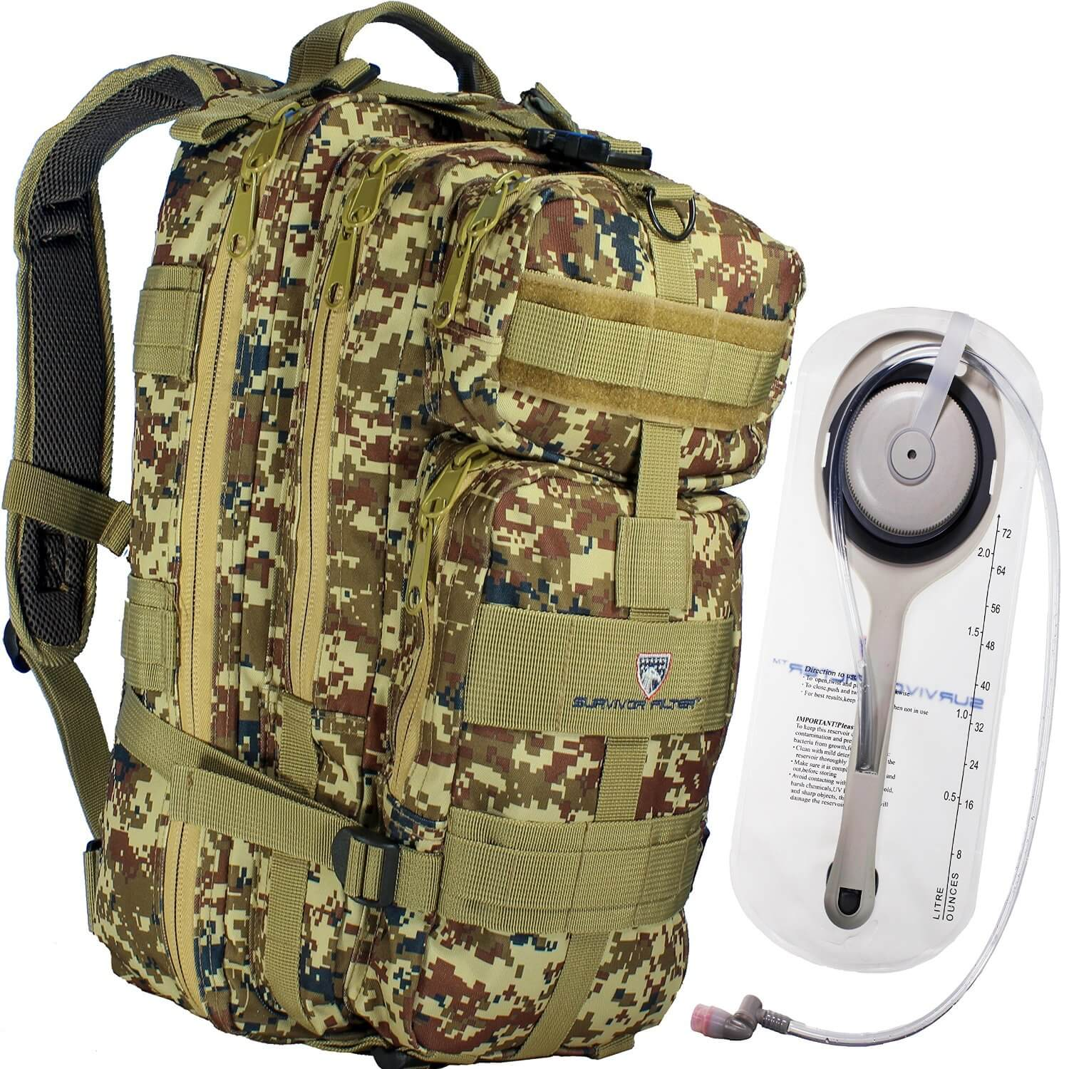 Survivor Filter Tactical Hydration Backpack