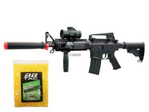 BBTac BT-M83+5000BB LPEG 250 FPS Full Auto Electric Power Airsoft Gun