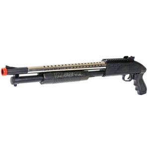 BBTac 688S Shotgun Pump Action Spring Powered Airsoft Gun