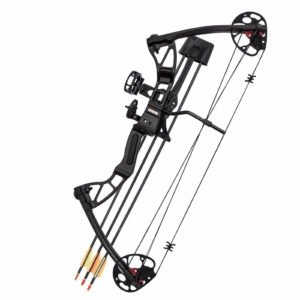 SAS 25-55 Lb 20-29'' Adjustable Quad Limb Compound Bow