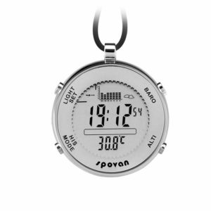 niceEshop(TM) Spovan Multi-functional Outdoor Waterproof Fishing Pocket Watch
