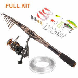 PLUSINNO Spinning Rod and Reel Combos
