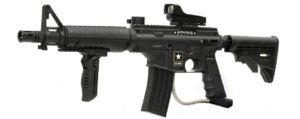 US Army Alpha Black Elite Paintball Marker Gun