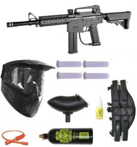 Spyder E-MR5 Magazine Fed Paintball Marker Gun