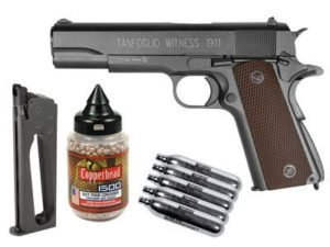 Tanfoglio 358003 1911 Full Metal Co2 Blowback Air Pistol