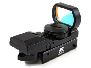 Ultimate Arms Gear Tactical 4 Reticle Red Dot Open Reflex Sight
