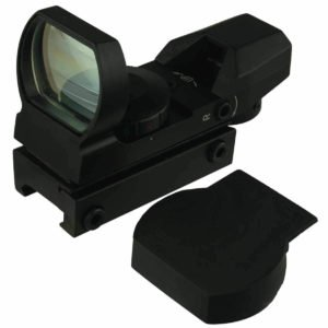 Red and Green Reflex Sight with 4 Reticles