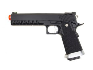 KJW Model-616 KP06 Gas Blowback Full Metal Black