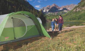 coleman 8 person cheap tent