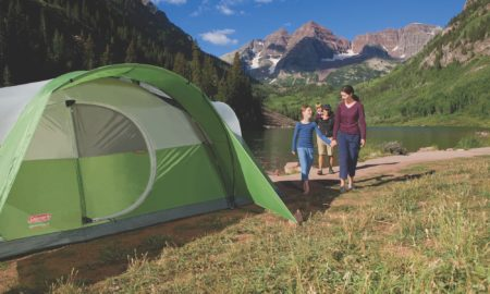 coleman 8 person cheap tent