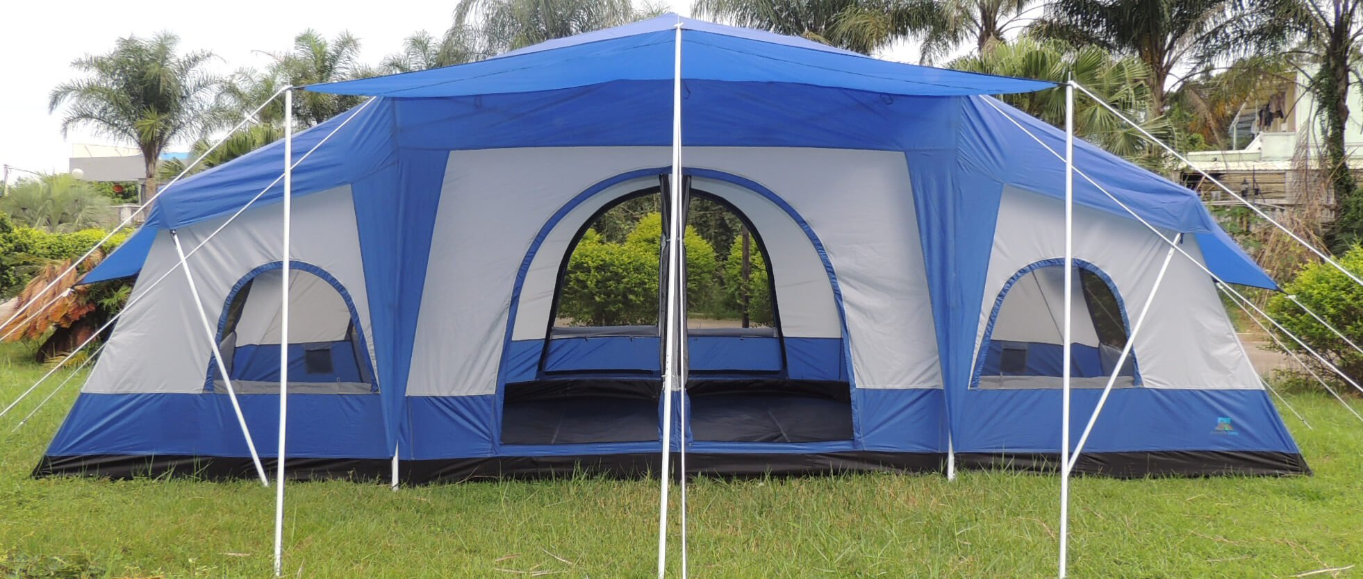 Cabin-Tent-Delux-Four-Room-FrontView