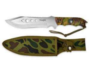 Yes4All MH-H150 Tactical Hunting Survival Fixed Blade Knife