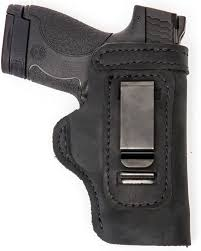 Glock 19 23 32 36 Pro Carry LT CCW IWB Leather Gun Holster