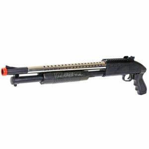BBTac 688S Shotgun Pump Action Spring Powered Airsoft Gun