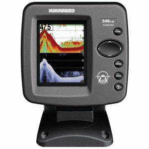 Humminbird PiranhaMAX 175 PT Portable Dual Beam Fish Finder with portable case