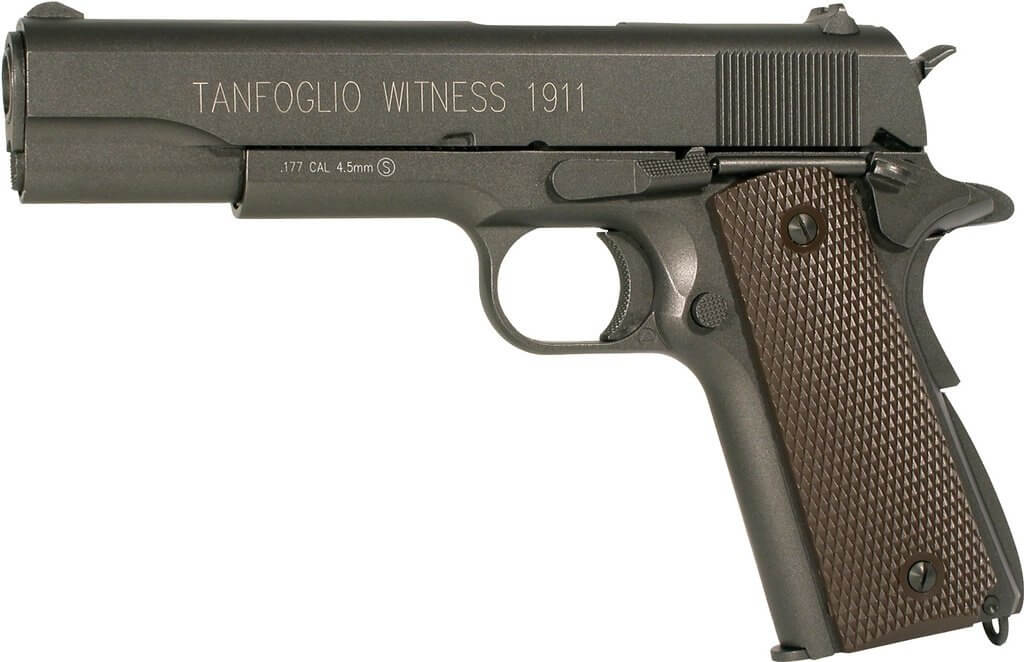 Tanfoglio 358003 1911 Full Metal C02 Blowback Air Pistol