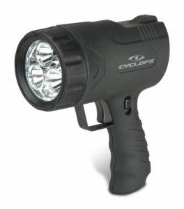 Sirius 500 Lumen Handheld Spotlight w/6 LED Lights