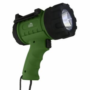 Journey's Edge Pistol Grip Waterproof Rechargeable LED Spotlight Flashlight
