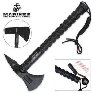 USMC Elite Tactical Bruiser Survival Tomahawk Axe