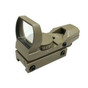 EconoLed Holographic 4 Multi-Reticles Tactical Dual IlluminatedRed/Green Reflex Sight