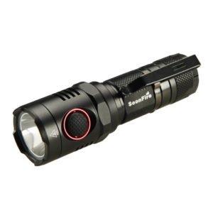 Rechargeable Flashlight:Cree XM-L2 U3 LED 1000 Lumen